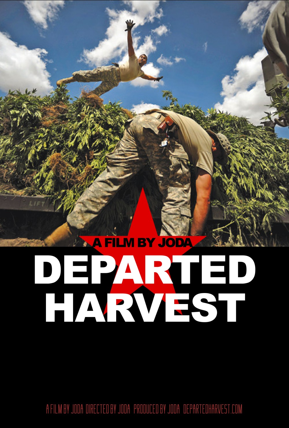 Departed Harvest Weed Poster