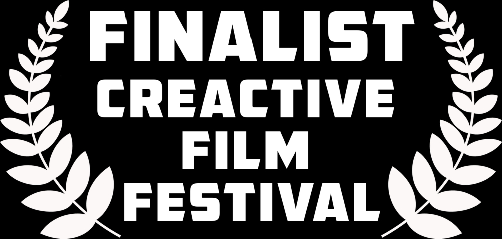 CREACTIVE FINALIST white on black