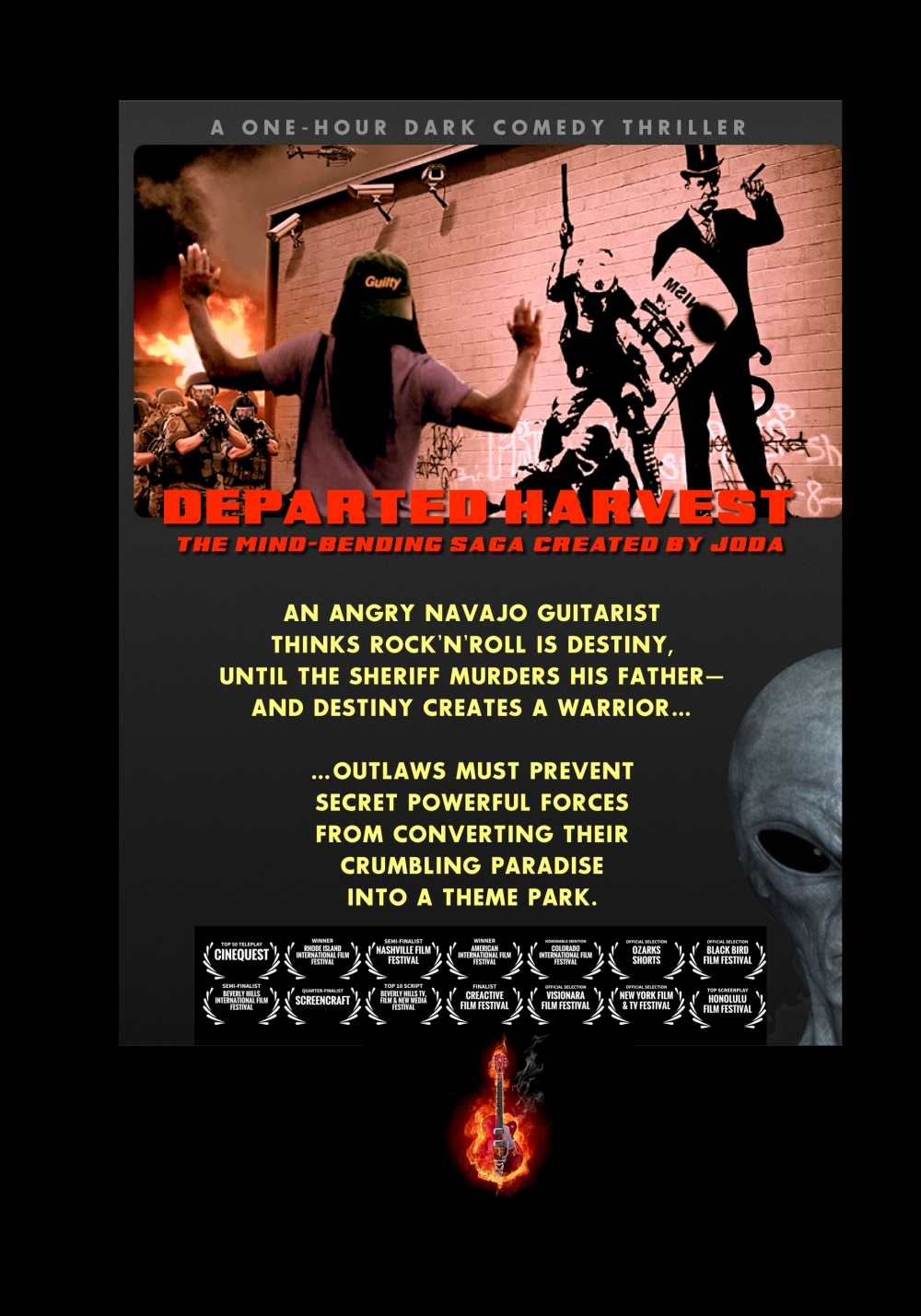 Departed Harvest One Sheet